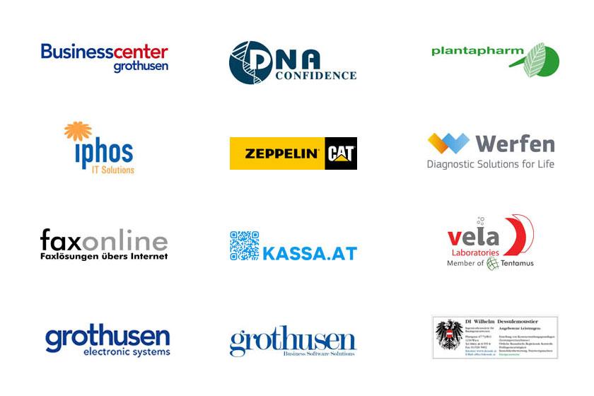 Klienten-Logos-Referenzen